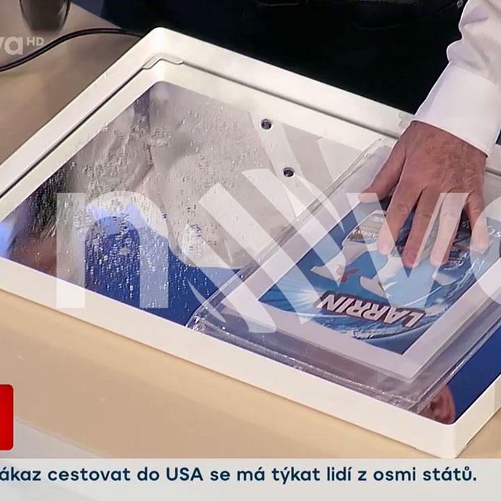 Nové nano výrobky byly představeny ve Snídani s Novou