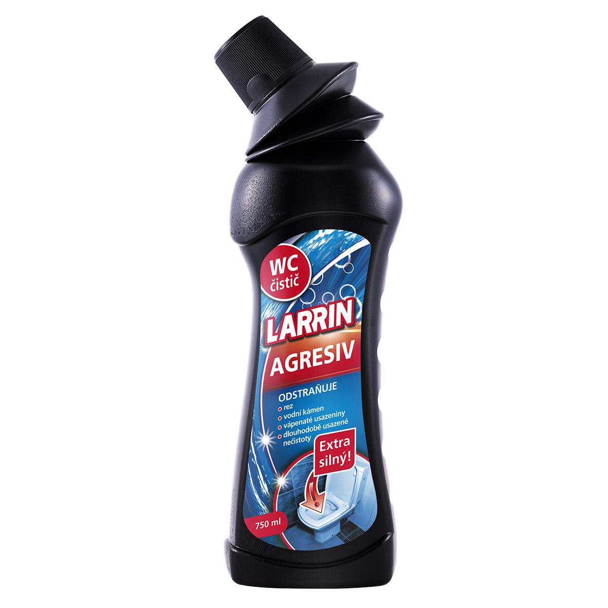 Larrin WC čistič Agresiv 750ml