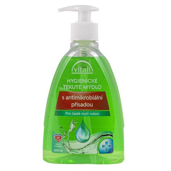 Hygienické tekuté mýdlo s antibakteriální přísadou 300ml