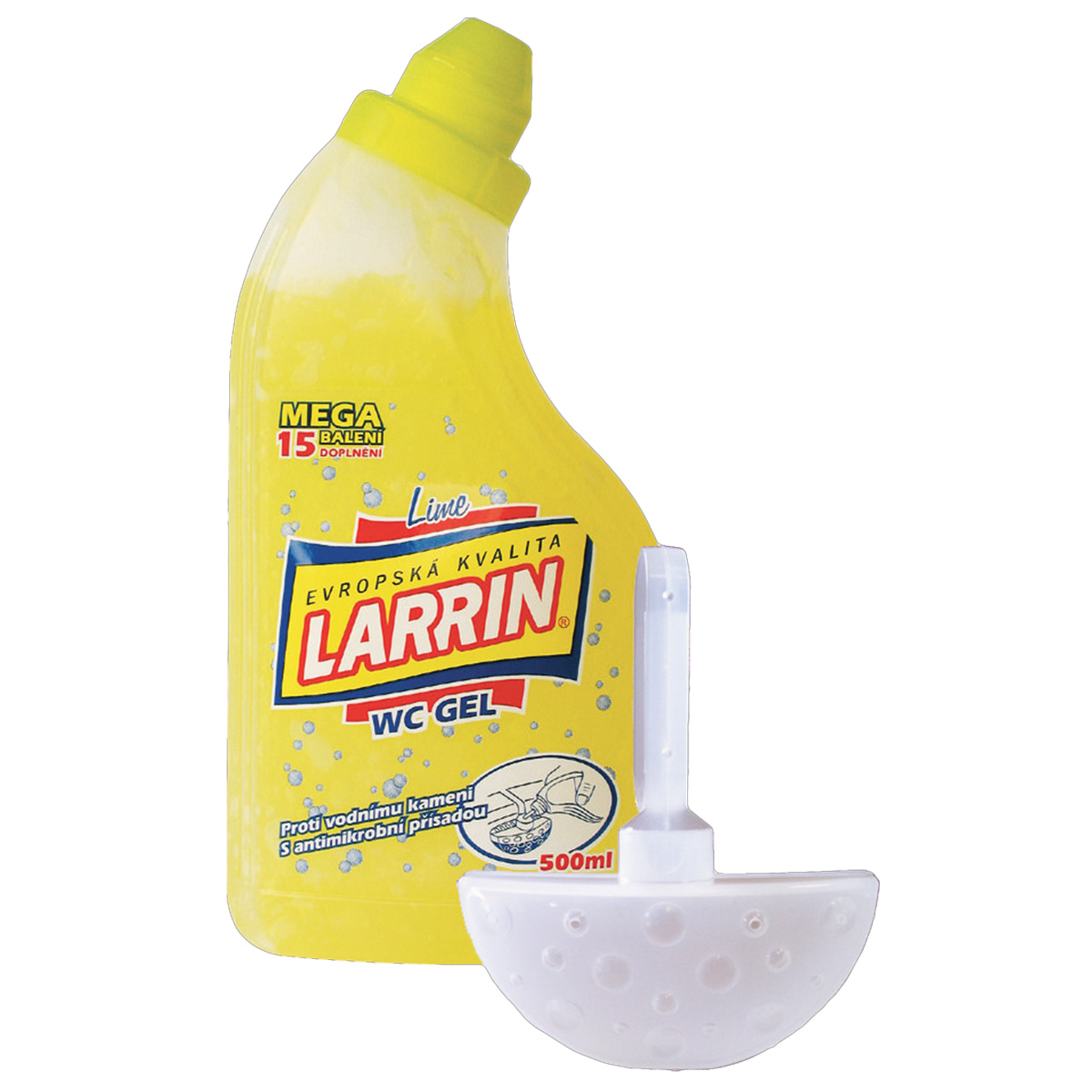 01178 Larrin WC Gel Lime, 500ml Larrin WC Gel Lime, 500ml
