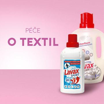 produkty péče o textil