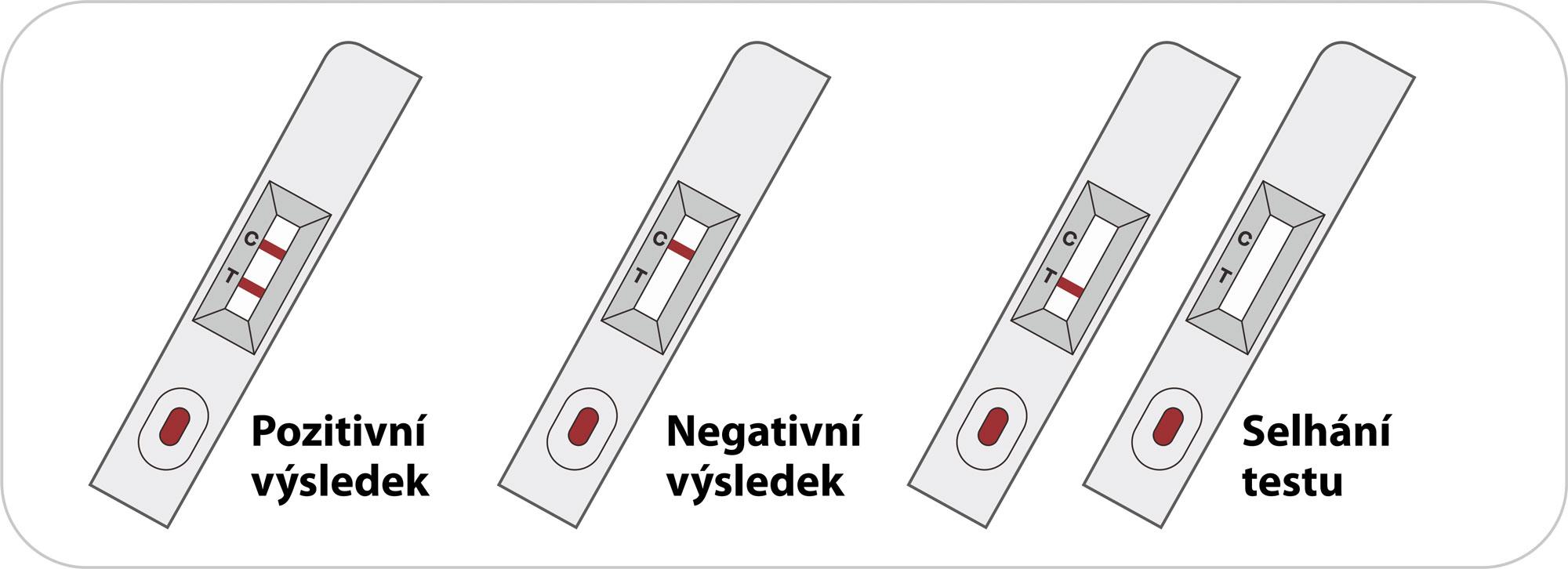 interpretace výsledků testu na COVID-19