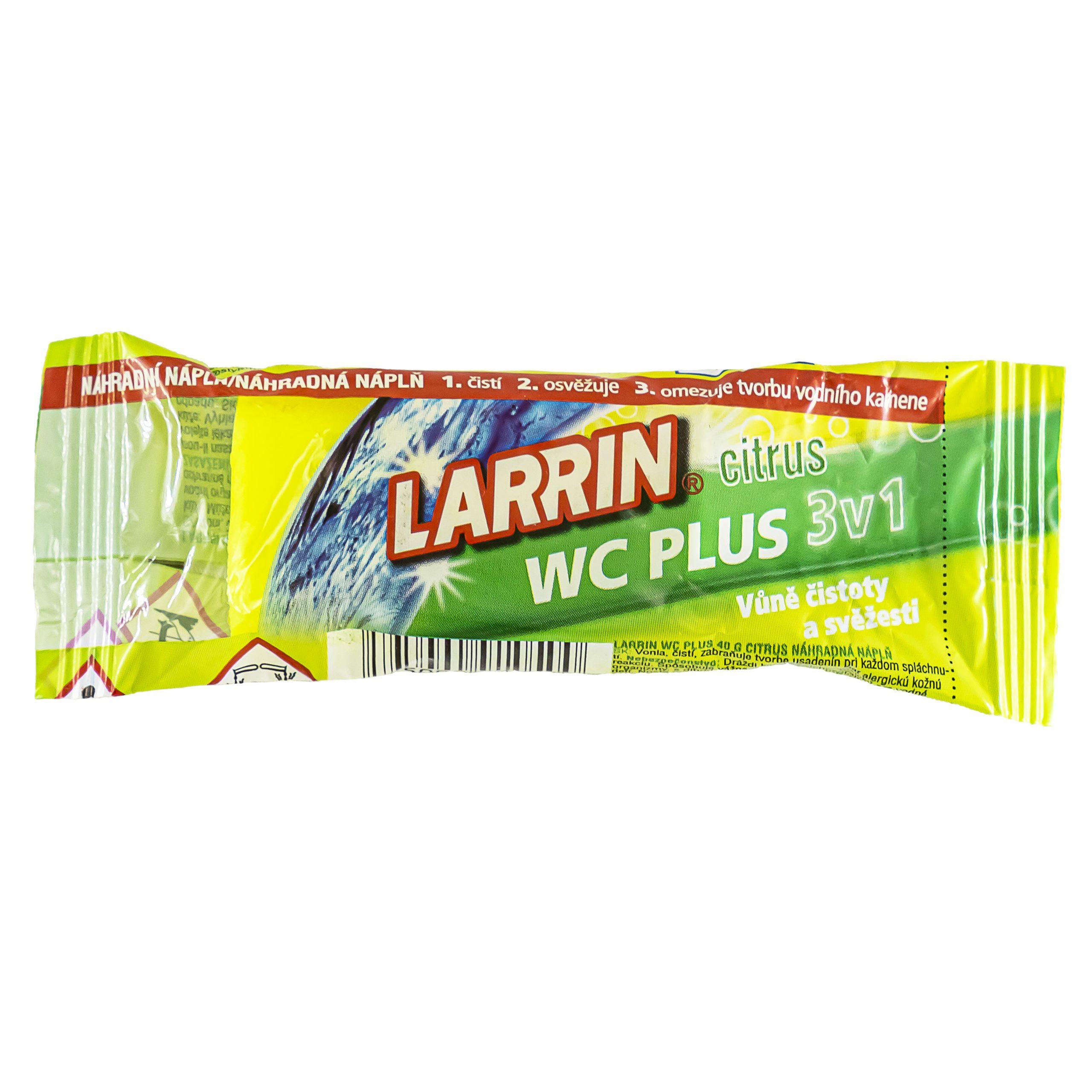 Larrin WC Plus citrus 3v1
