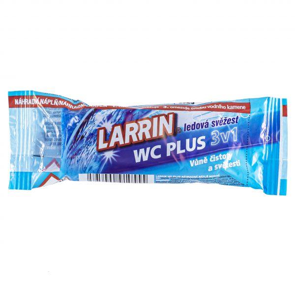 Larrin WC Plus ledová svěžest 3v1